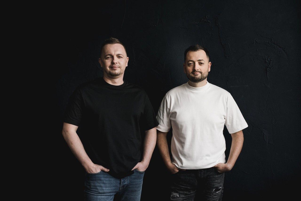 Олег Крот та Юрій Лазебніков, засновники холдингу TECHIIA