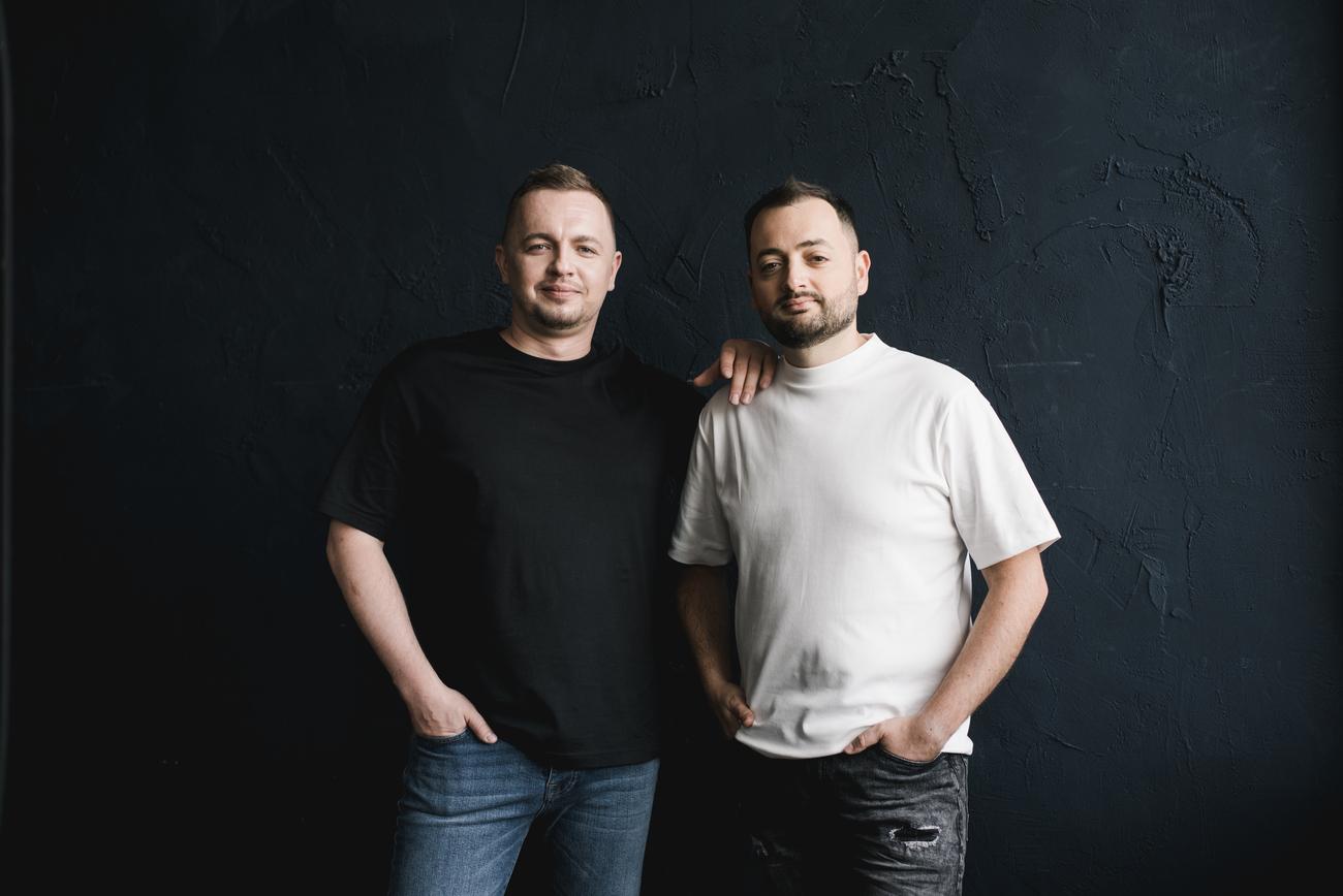 Олег Крот и Юрий Лазебников