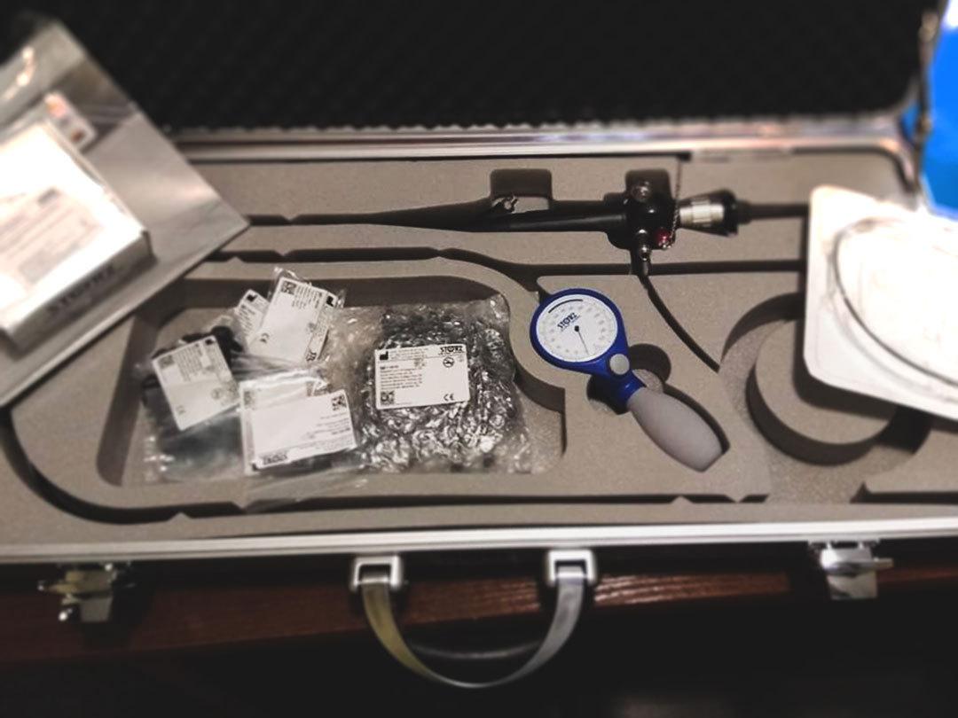 бронхо-фиброскоп