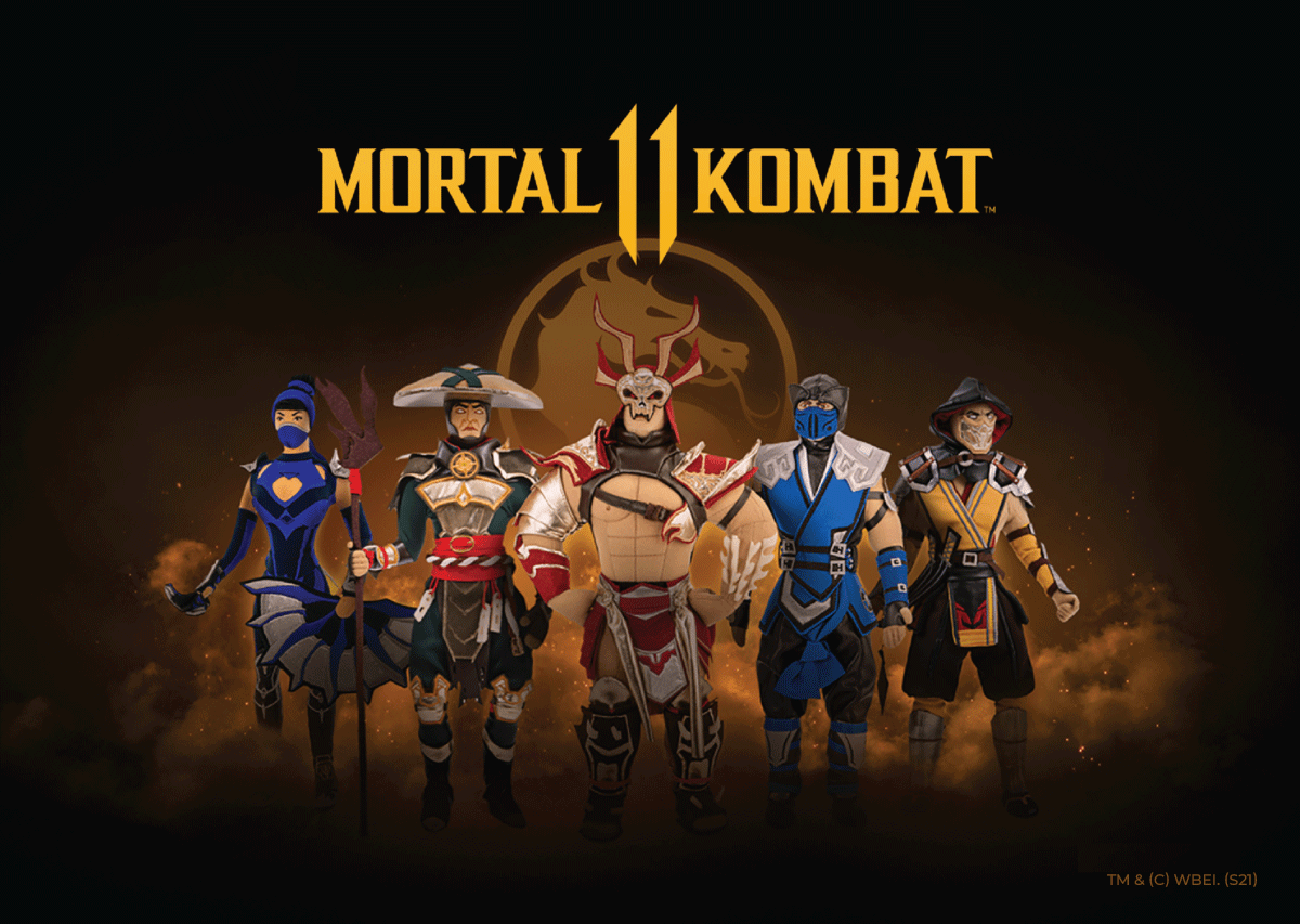 collection of Mortal Kombat 11 by WP Merchandise