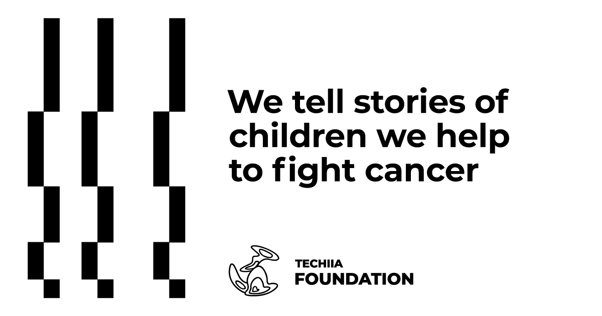TECHIIA and Tabletochki: we tell stories of children we help to fight cancer