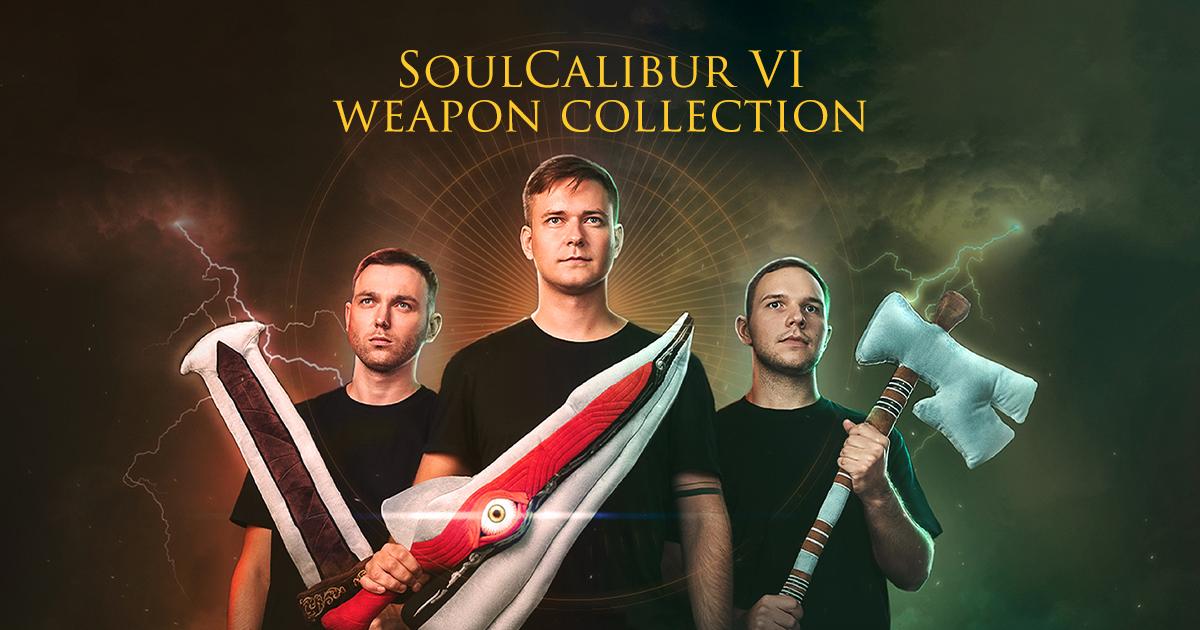 WP Merchandise выпустила коллекцию плюшевого оружия по мотивам игры SoulCalibur VI