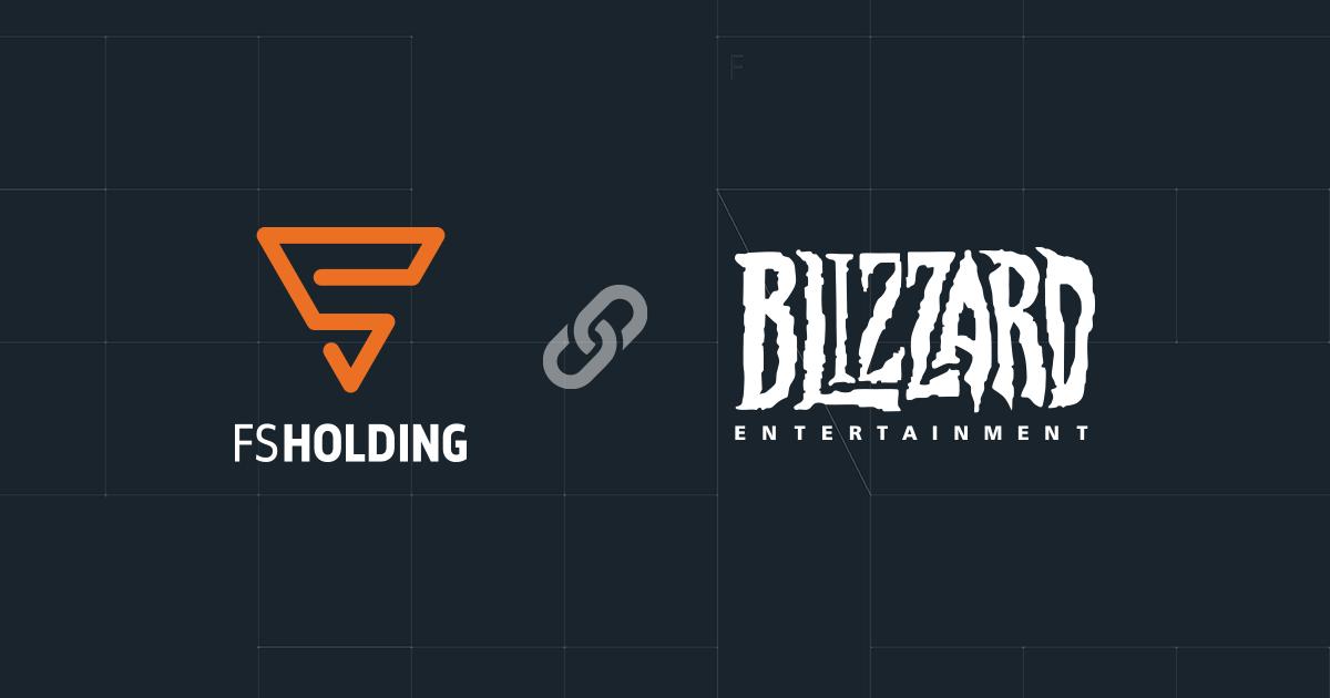 Компанія FS Holding, частина холдингу TECHIIA, підписала ліцензійний контракт з американським розробником і видавцем ігор Blizzard Entertainment.