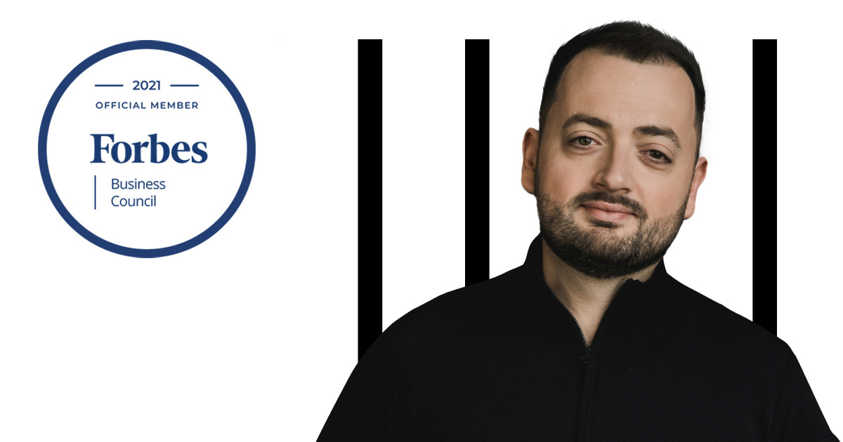 Yura Lazebnikov has joined the Forbes Business Council