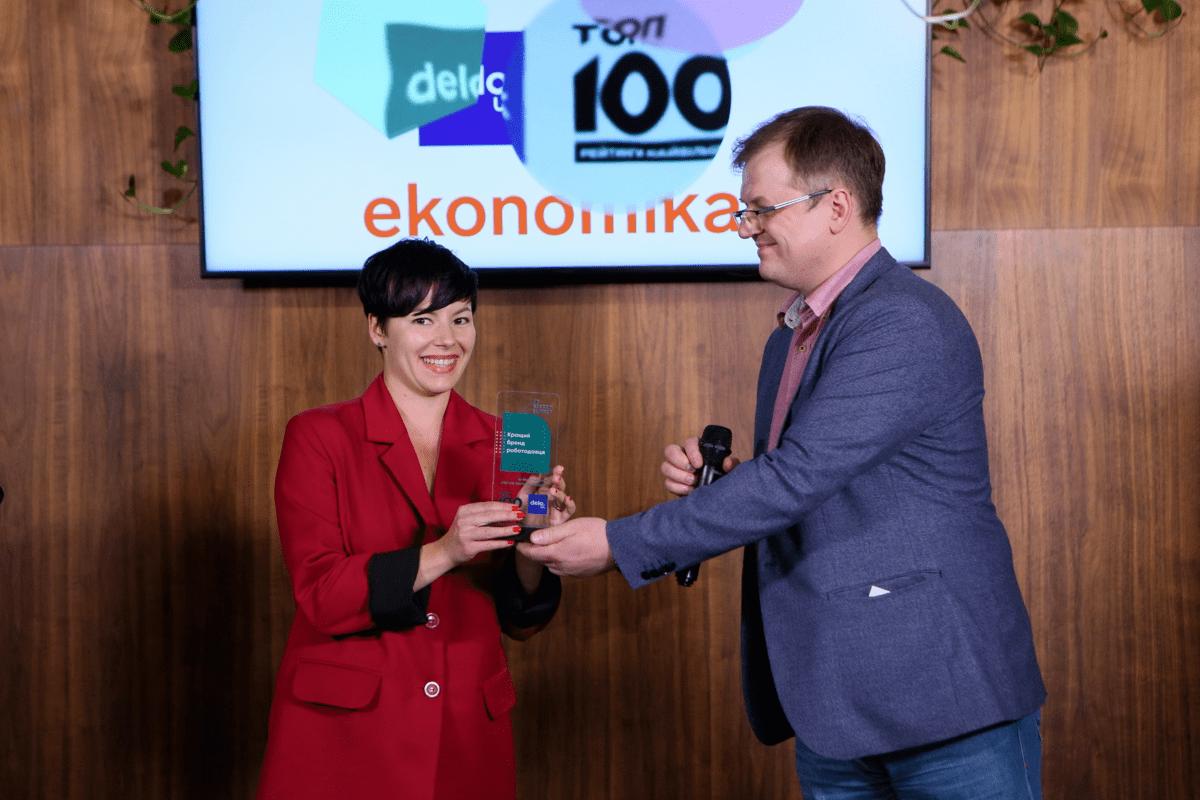 TECHIIA holding is one of the best employers in Ukraine