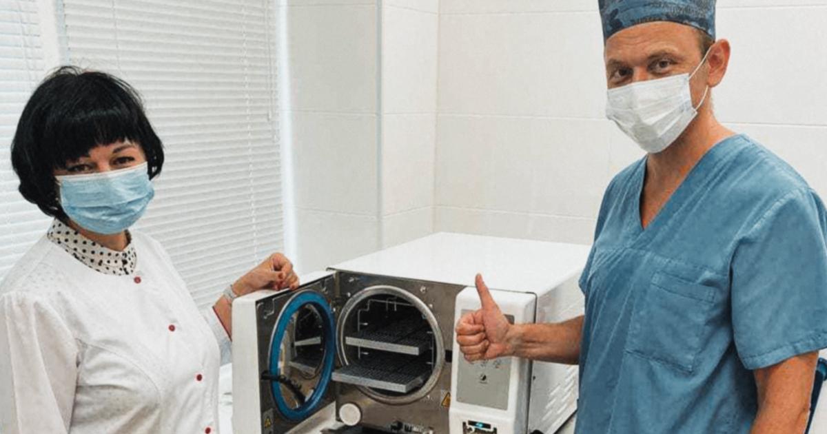 Три украинских больницы получили высокотехнологичное оборудование от «Фундации Течия»